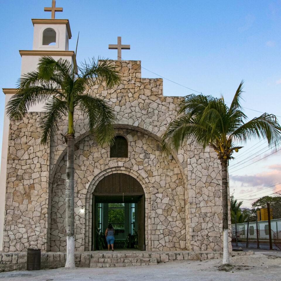 Iglesia 500 años Cozumel
