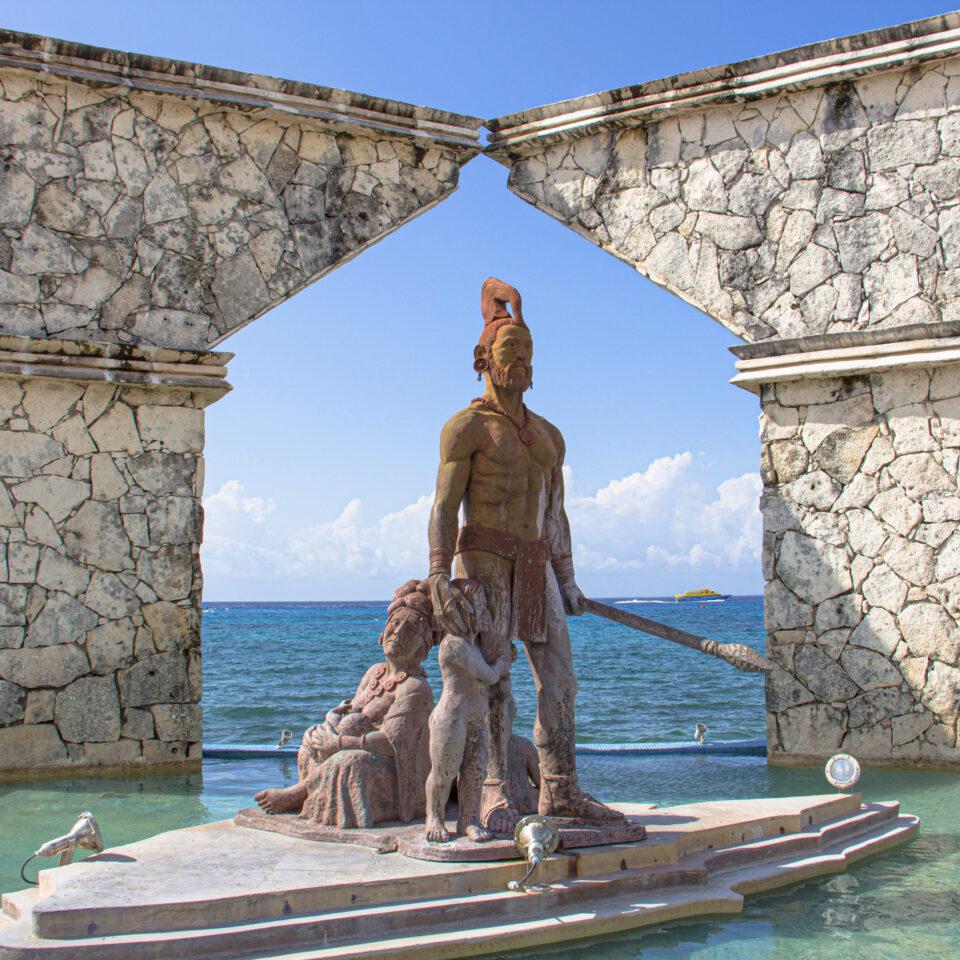 Monumento al mestizaje Cozumel