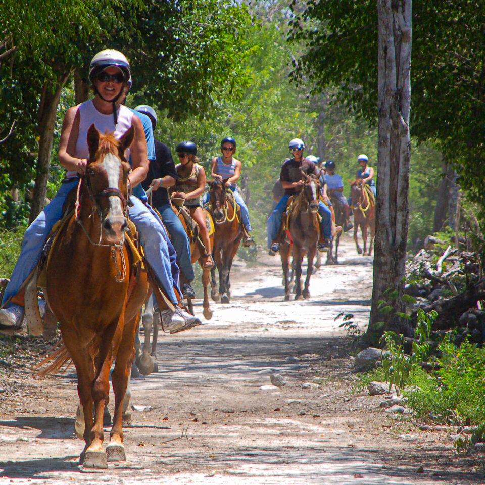 Tour a caballo en Cozumel
