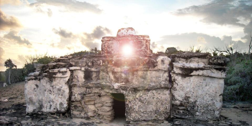Ruina El Caracol Cozumel, Punta Sur Cozumel, amanecer cozumel