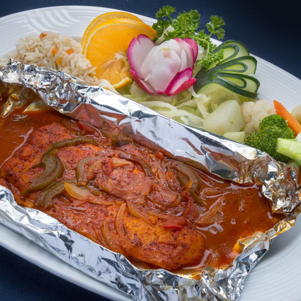 Filete de pescado TikinXic en La Perlita