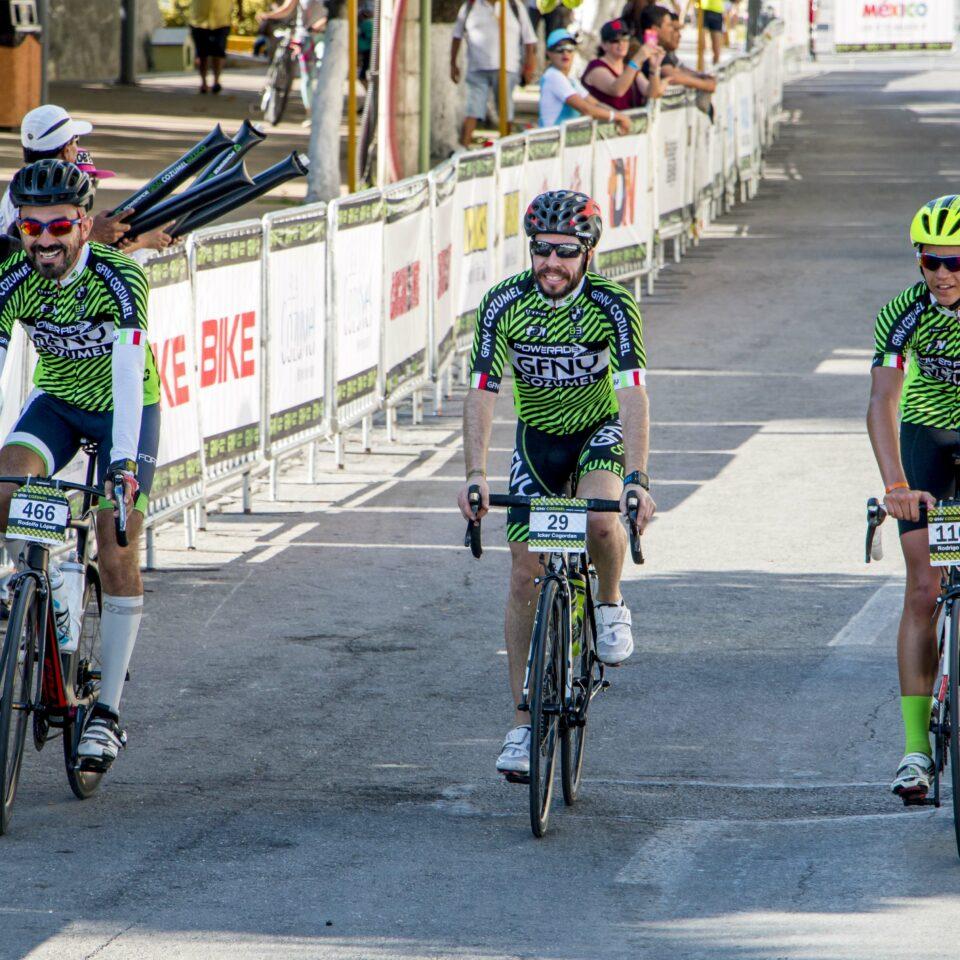 Gran Fondo New York Cozumel, GFNY Cozumel, ciclismo, cozumel en bicicleta