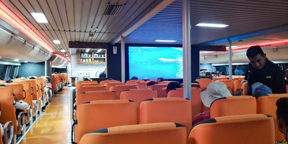 Barco Winjet, Interiores Wintet