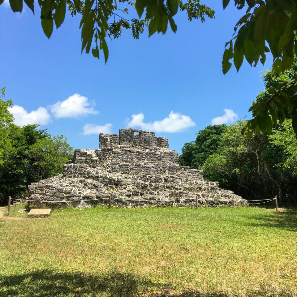 Imagen san gervasio cozumel, ruina ka´na-nah, zona arqueologica cozumel, selva cozumel