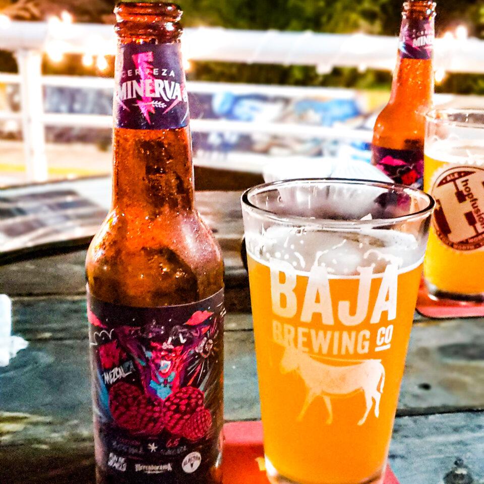 Cerveza artesanal en la Internacional en Cozumel
