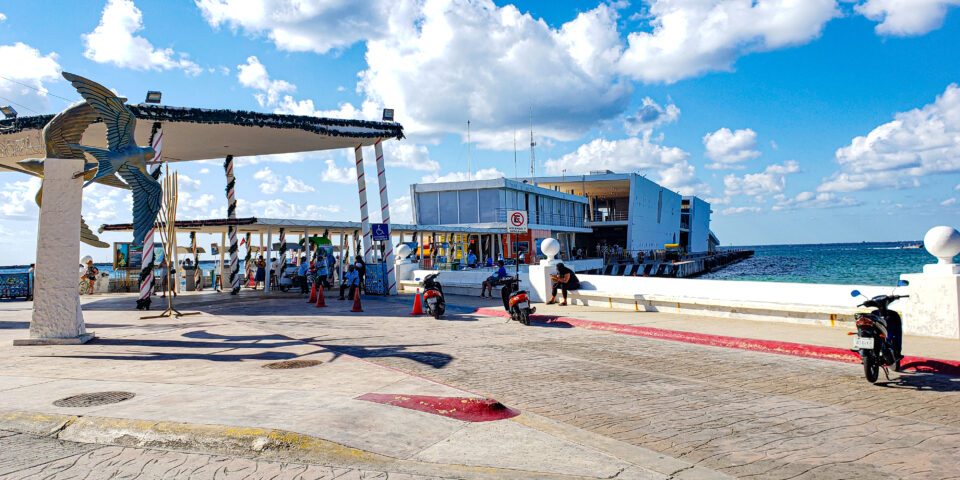 Muelle fiscal Cozumel