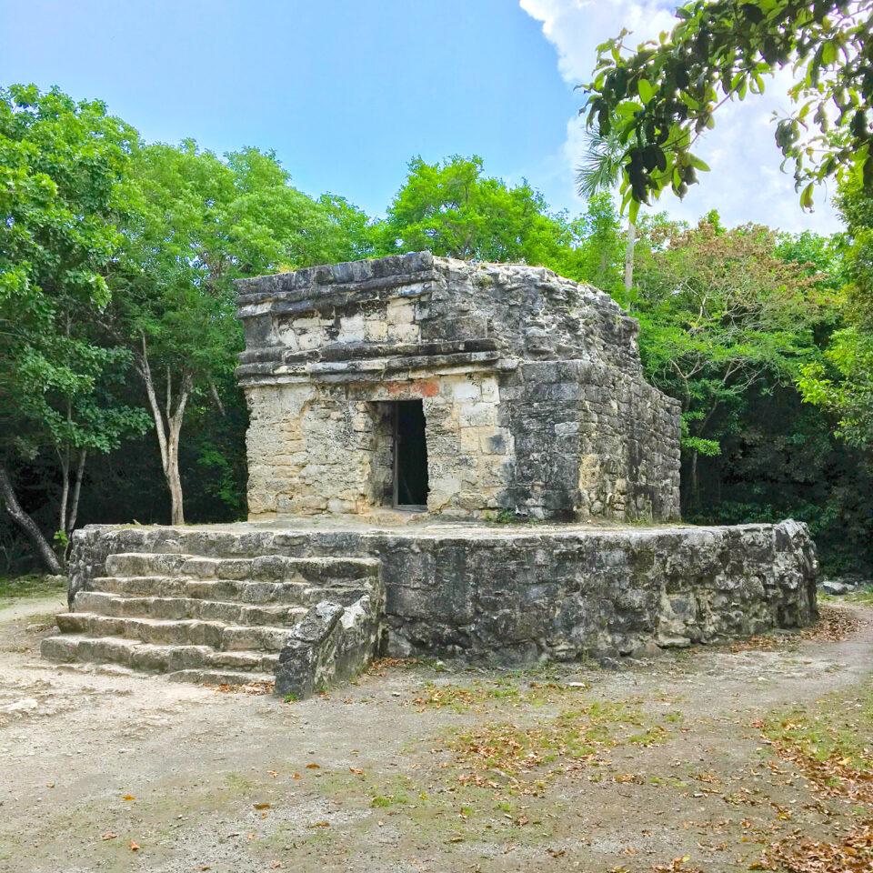 Imagen san gervasio cozumel, ruina nohoch-nah, zona arqueológica cozumel
