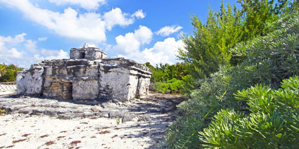 Imagen ruina el caracol cozumel, punta sur cozumel, zona arqueologica, los mayas cozumel