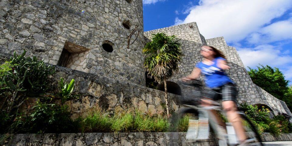 Aventura en bicicleta en Cozumel