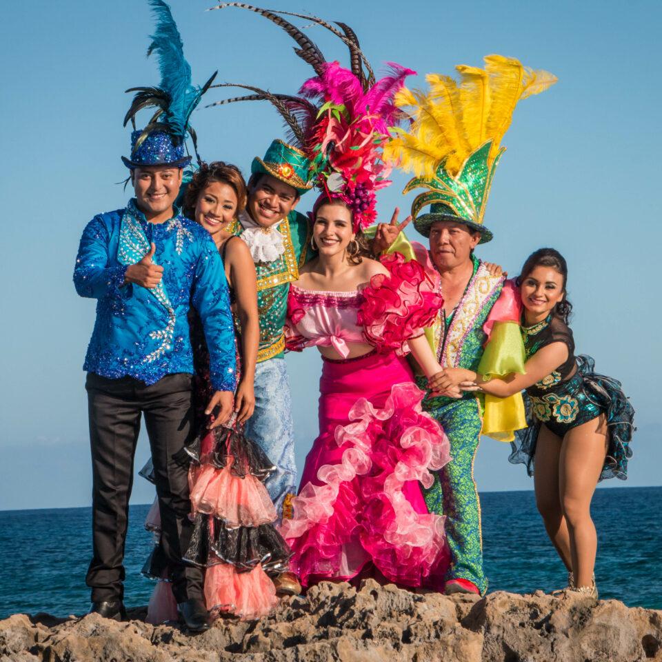 Candidatos a reyes del carnaval 2017 cozumel