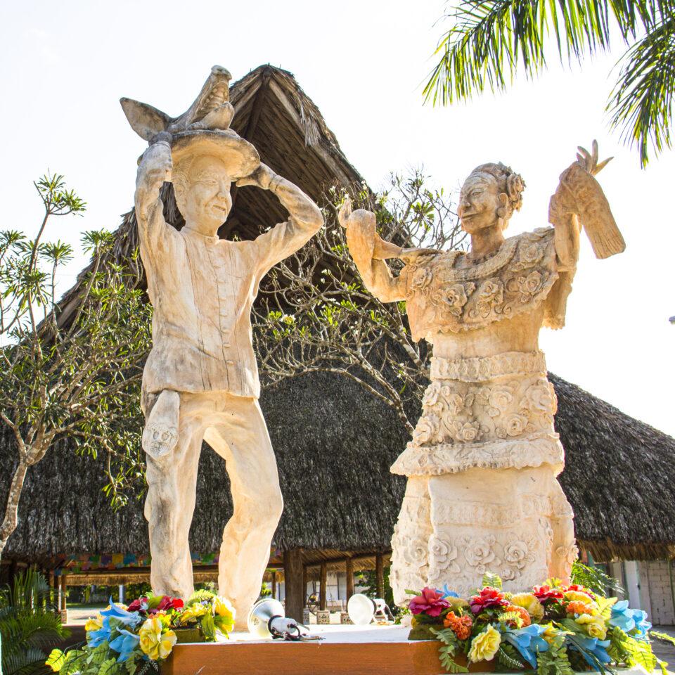 El cedral en Cozumel