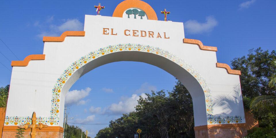 Arcos del cedral en Cozumel