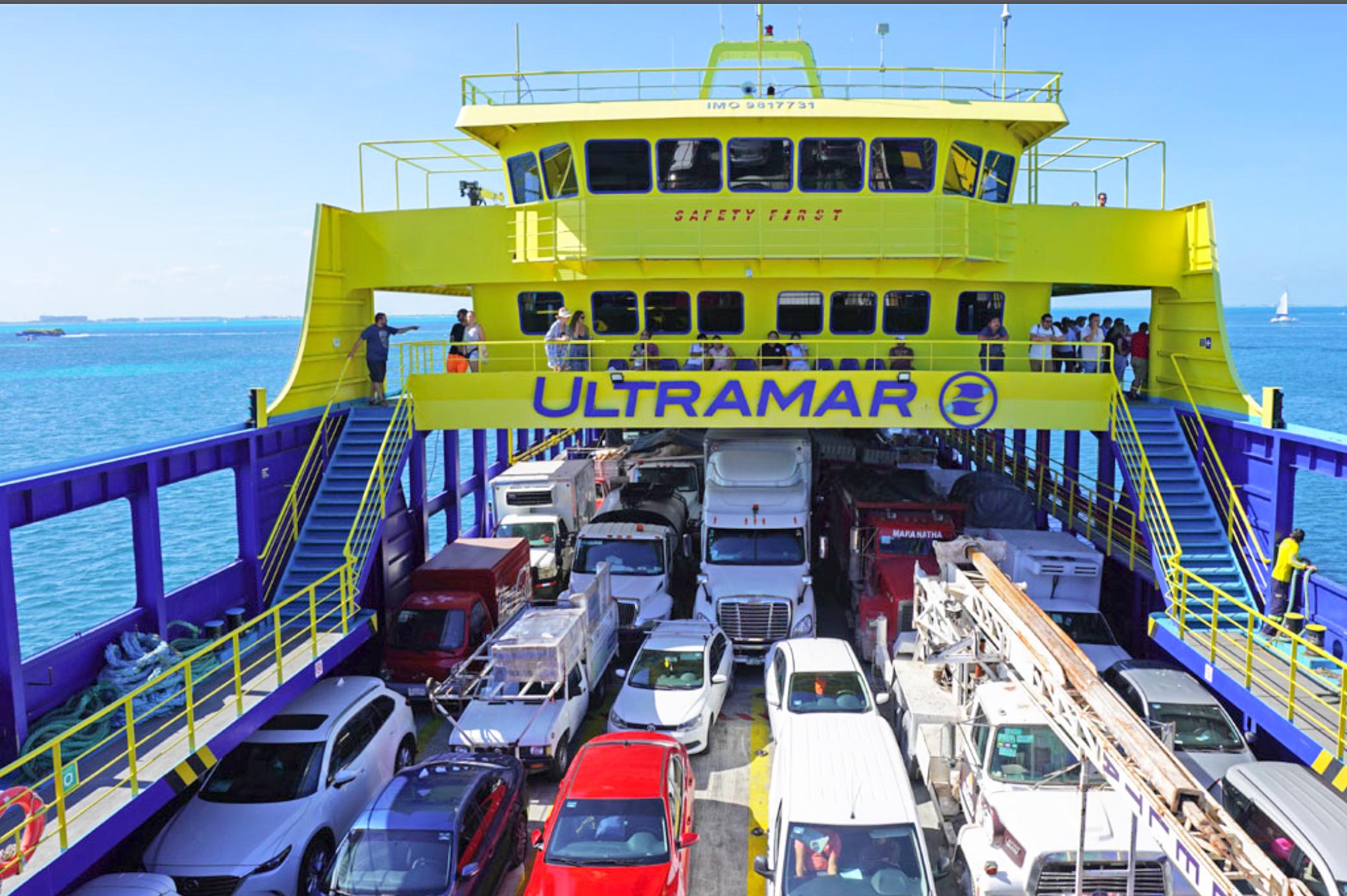 Ferry Ultramar, Ultracarga