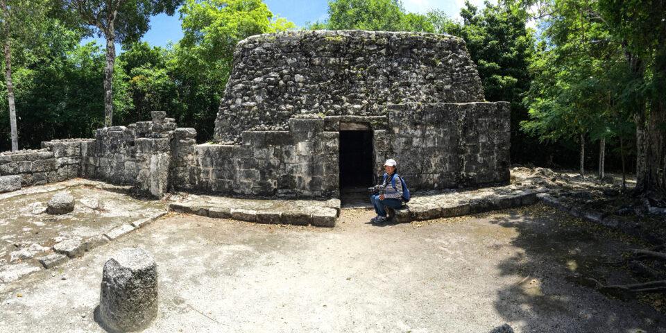 Imagen san gervasio cozumel, ruina murcielagos, zona arqueologica cozumel