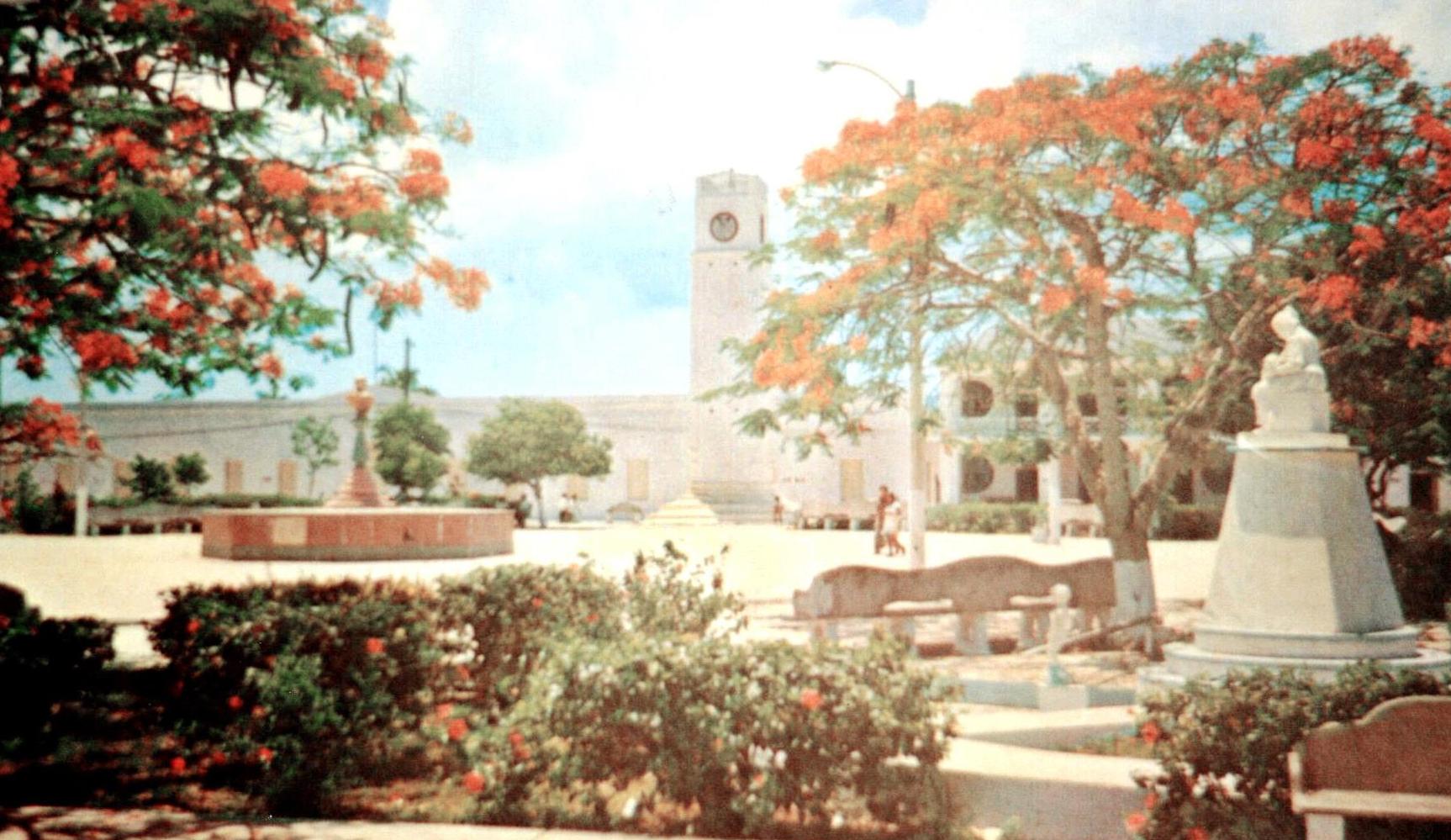 Antiguo Parque Benito Juarez en Cozumel