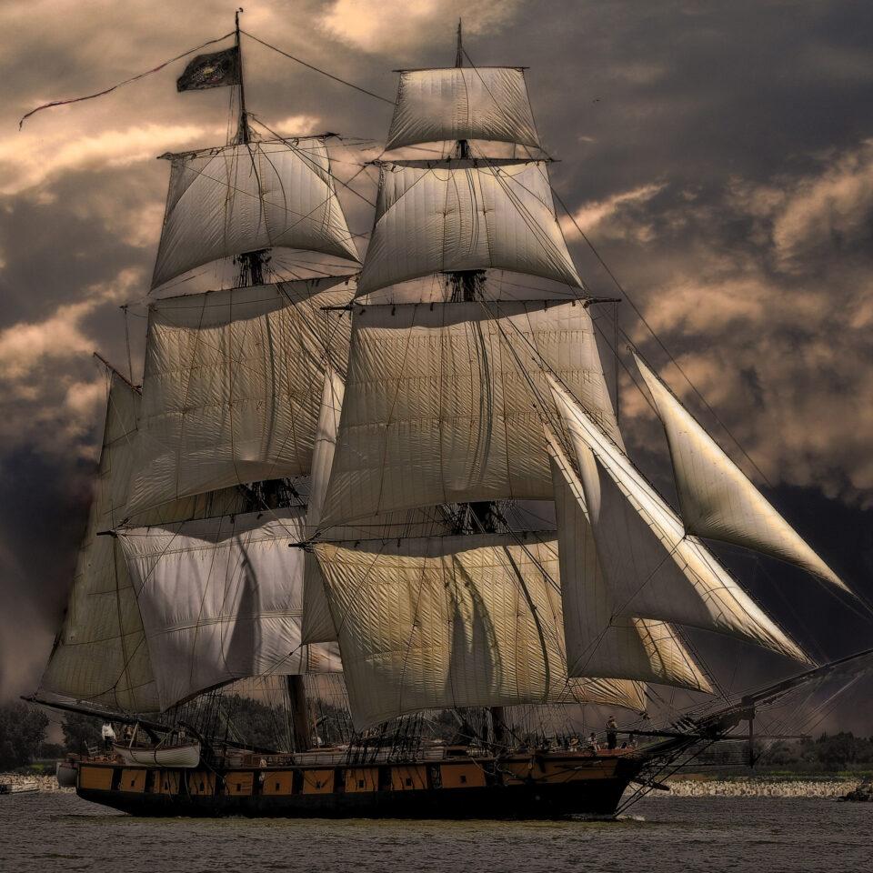 imagen que representa un galeón pirata en cozumel foto de pixabay en pexels