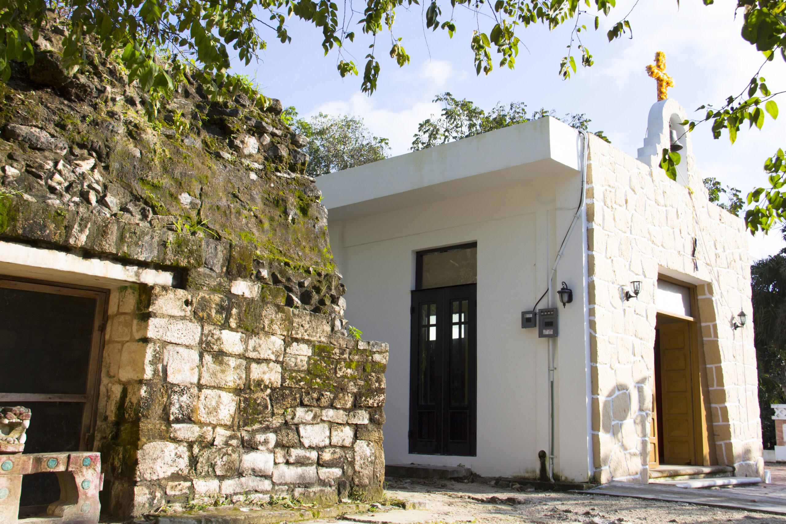 Ruina La Carcel, Iglesia Sana Cruz, Cedral Cozumel