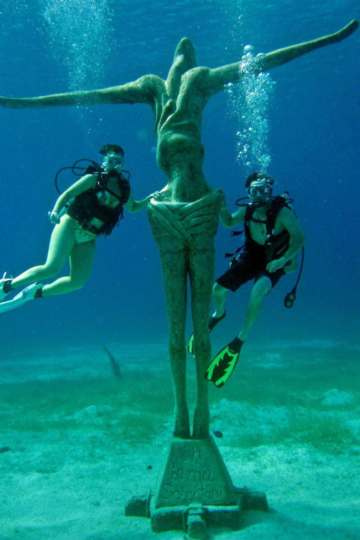 Cristo de Chankanaab, buceo cozumel