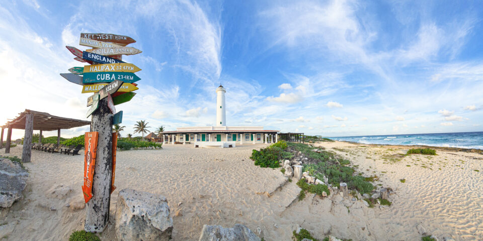 Faro Celarain Punta Sur